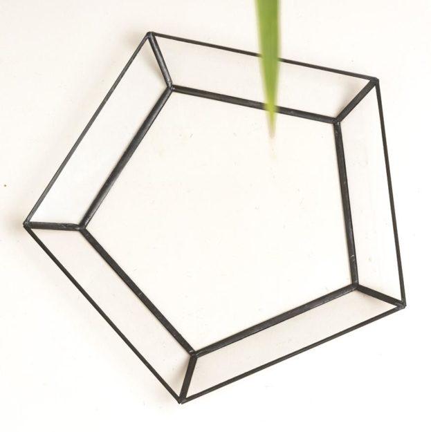 Купить кашпо с поддоном из стекла