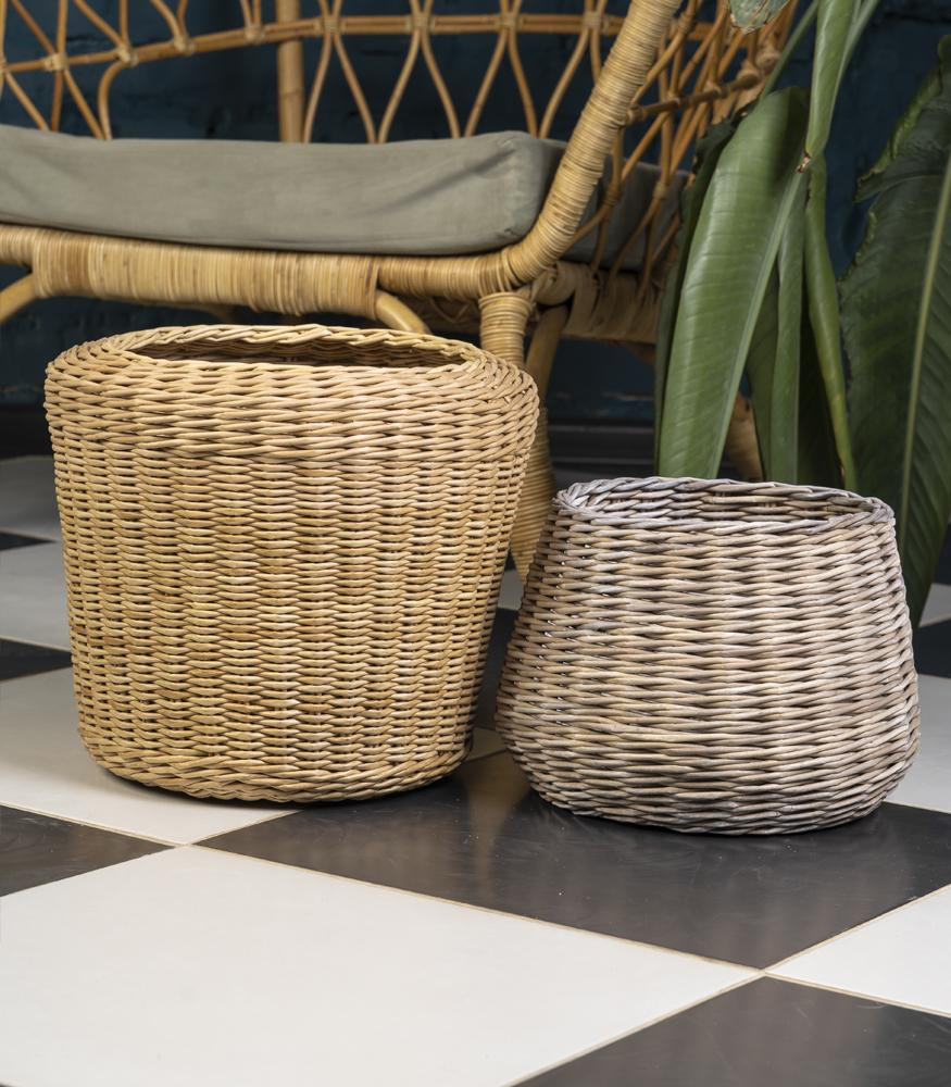 Плетенные горшочки для растений купить